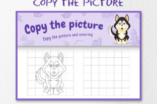 A Cute Husky 1 - Copy the Picture Graphic 10th grade By wijayariko