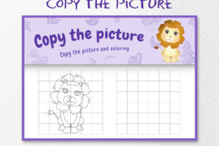 A Cute Lion 1 - Copy the Picture Graphic 10th grade By wijayariko