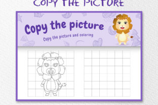 A Cute Lion 3 - Copy the Picture Graphic 10th grade By wijayariko