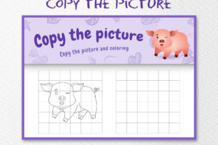 A Cute Pig 5 - Copy the Picture Graphic 10th grade By wijayariko