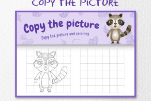 A Cute Raccoon 4 - Copy the Picture Graphic 10th grade By wijayariko