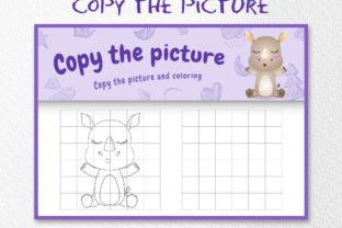 A Cute Rhino 4 - Copy the Picture Graphic 10th grade By wijayariko