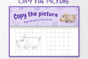 A Cute Rhino 5 - Copy the Picture Grafik Zehnte Klasse von wijayariko