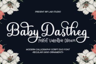 Print on Demand: Baby Dastheg Script & Handwritten Font By IRF Lab Studio