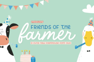 Print on Demand: Friends of the Farmer Script & Handwritten Font By Salt & Pepper Designs