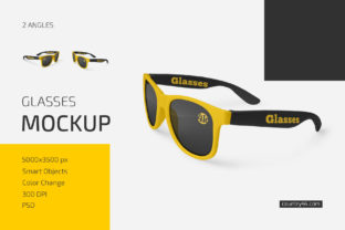 Glasses Mockup Set Graphic Product Mockups By country4k