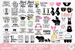Mother's Day SVG Bundle,mom Svg,mum Svg Graphic Crafts By redearth and gumtrees