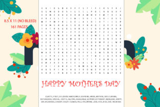 Mother's Day Word Search | Kdp Interior Graphic KDP Interiors By Creative interior