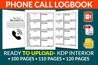 Print on Demand: Phone Call Logbook- KDP Interior Graphic KDP Interiors By KDP Squad