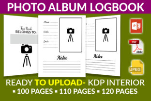 Print on Demand: Photo Album Logbook- KDP Interior Graphic KDP Interiors By KDP Squad