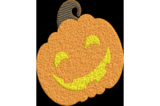 Pumpkin Halloween Embroidery Design By Wingsical Whims Designs