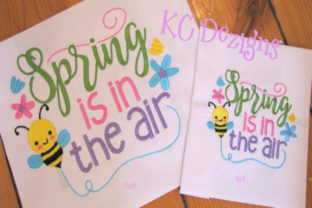 Spring is in the Air Spring Embroidery Design By karen50