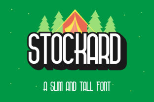 Print on Demand: Stockard Display Font By Helotype