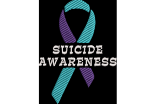 Suicide Awareness Awareness Embroidery Design By Wingsical Whims Designs