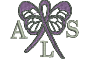 ALS Awareness Awareness Embroidery Design By Wingsical Whims Designs
