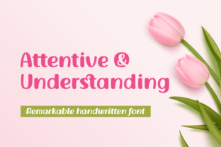 Print on Demand: Attentive and Understanding Display Font By Situjuh