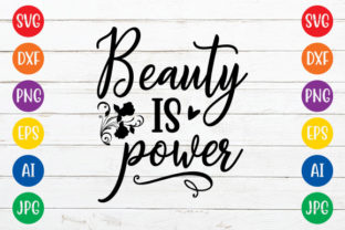 Beauty is Power Graphic Crafts By ismetarabd