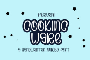 Print on Demand: Cooking Ware Display Font By edwar.sp111