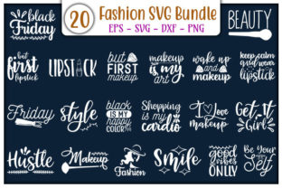 Print on Demand: Fashion Design Bundle Graphic Print Templates By GraphicsBooth
