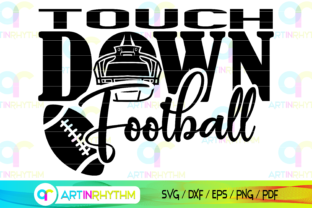 Football Touch Down Graphic Crafts By artinrhythm
