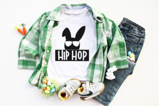 Hip Hop Bunny SVG Graphic Crafts By dansiedesign