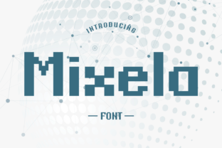 Print on Demand: Mixela Display Font By Rizkky (7NTypes)