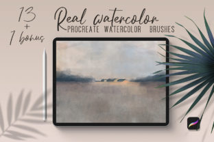 Real Watercolor Procreate Brushes Graphic Brushes By art_in_myheart