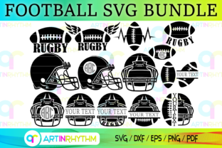 Rugby and Football Svg Bundle Graphic Crafts By artinrhythm