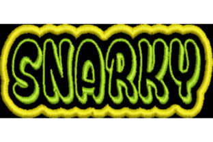 Snarky Word Awareness & Inspiration Embroidery Design By Wingsical Whims Designs
