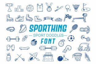 Print on Demand: Sporthing Dingbats Font By Dito (7NTypes)
