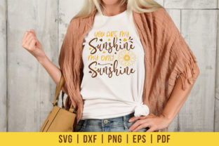 Sunflower SVG, You Are My Sunshine My Graphic Crafts By CraftlabSVG