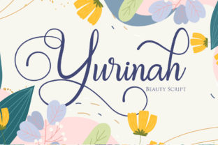Print on Demand: Yurinah Script & Handwritten Font By Maung Lines