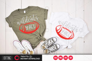 Print on Demand: Wildcats Yall 1 Graphic Crafts By PrintableSvg