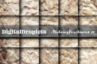 Alchemy Parchment Vol. 11 | Collection Graphic Backgrounds By FlyingMonkies
