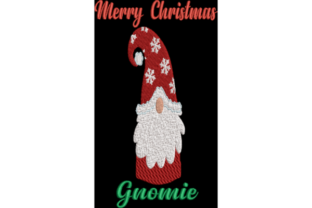 Christmas Gnome Christmas Embroidery Design By Wingsical Whims Designs