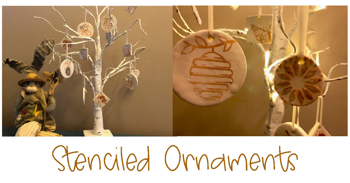 Create Your Own Nature Themed Ornaments