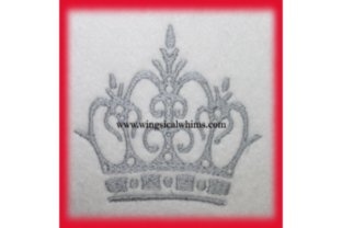 Crown Prince or Princess Fairy Tales Embroidery Design By Wingsical Whims Designs