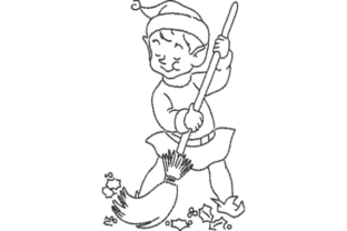 Elf Christmas Embroidery Design By Wingsical Whims Designs
