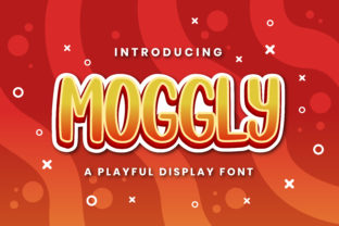 Print on Demand: Moggly Display Font By Pixesia Studio