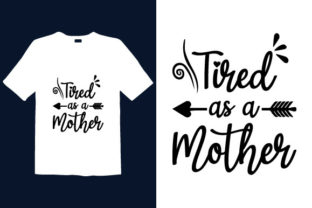 Print on Demand: Mother's Day T-shirt Design 003 Graphic Print Templates By graphicdabir