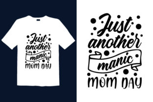 Print on Demand: Mother's Day T-shirt Design 004 Graphic Print Templates By graphicdabir