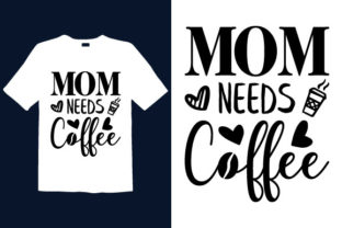 Print on Demand: Mother's Day T-shirt Design 010 Graphic Print Templates By graphicdabir