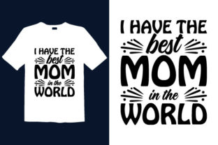 Print on Demand: Mother's Day T-shirt Design 011 Graphic Print Templates By graphicdabir