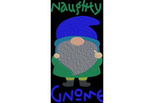 Naughty Gnome Fairy Tales Embroidery Design By Wingsical Whims Designs