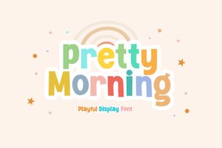 Print on Demand: Pretty Morning Display Font By Holydie Studio