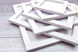 Print on Demand: Square Box Frame SVG Cut File Collection Graphic 3D Shadow Box By gentlemancrafter 3
