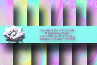 Print on Demand: 15 Going Home Backs Graphic Backgrounds By Zaimfuls Mystic Arts