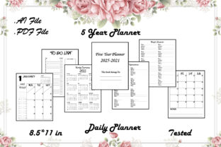 5 Year Daily Planner - Kdp Interior Graphic KDP Interiors By Kdp Speed
