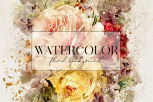 Abstract Watercolor Collection Graphic Backgrounds By DAYDESIGN