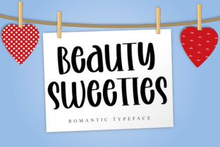 Print on Demand: Beauty Sweeties Display Font By Inermedia STUDIO